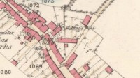 St Anne's Well on 1865 map