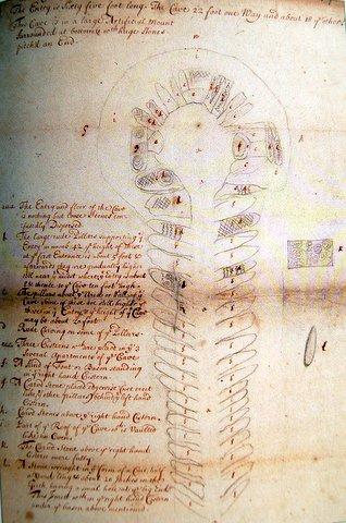 Newgrange-Edward-Lhywd 1699.jpg