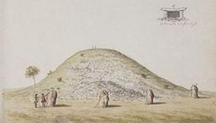 Newgrange-tumulus 1755.jpg